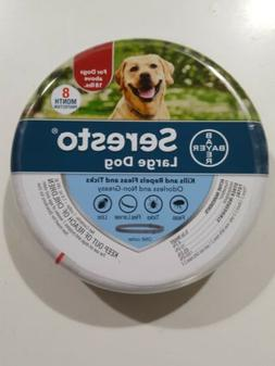Bayer Seresto Flea and Tick Collar for Large Dogs, 8 Month P