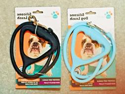 silicone dog leash length 2 8ft dogs