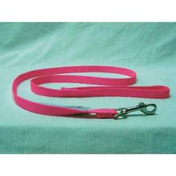 Single Thick Nylon Lead with Swivel Snap, 5/8 x 6' Hot Pink