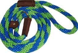 Lone Wolf Slip Lead with Leash and Collar for Pets, 1/2 by 4