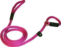 Lone Wolf Slip Lead with Leash and Collar for Pets, 1/2 by 6