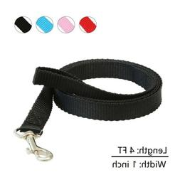 Small Dog Leash 4FT Nylon Durable Comfortable for Dogs Cats