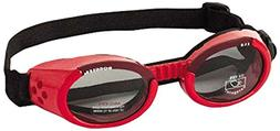 Doggles - ILS Medium Shiny Red / Smoke Lens