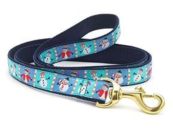 Up Country Snowman Dog Leash - 4 Ft Wide