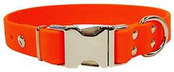 "Sparky's Choice Dog Collar Color: Orange, Size: 1"" x 26"""