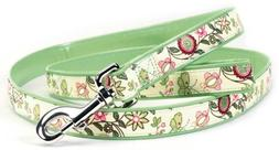 Too Spring Fling Dog Leash, 5/8-Inch Wide by 5-Feet Long