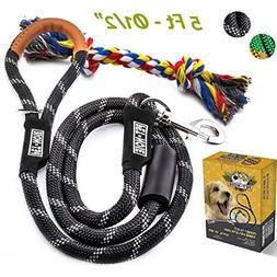 5 FT Strong Dog Leash Rope & Chew Resistant Toy, Mountain Cl