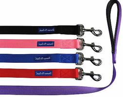 Strong Durable Dog Leash Lead, Padded Handle, Soft Handle Gr