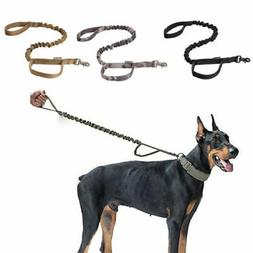 Dog Leash Police Tactical Training Heavy Duty Nylon Bungee M
