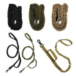 Tactical Training Metal Buckle Adjustable Dog Collar Stretch