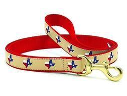 Up Country Texas  Dog Leash - 6 Ft Wide