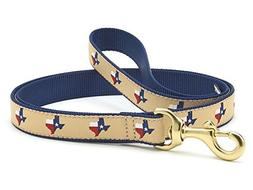 Up Country Texas Dog Leash - 4 Ft Wide