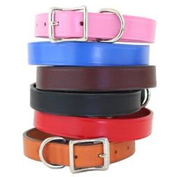 "Town Dog Collar Color: Pink, Size: 1"" x 26"""