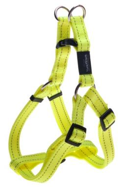 ROGZ Reflective Adjustable Dog Step in Harness for Extra Lar