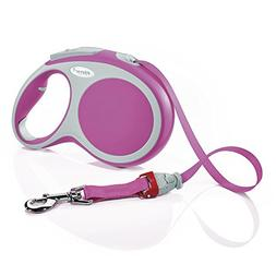 Flexi Vario  Retractable Dog Leash , 26 ft, Large, Pink