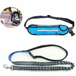Waist Hands Free Leashes Pet Outdoor Running Free-Hand Adjus