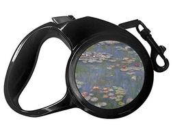 YouCustomizeIt Water Lilies by Claude Monet Retractable Dog