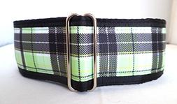wide martingale dog collar