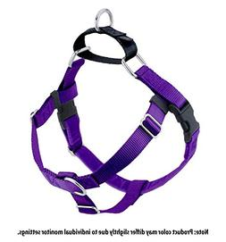 Wiggles Wags Whiskers Freedom No-Pull Dog Harness: Velvet Pa